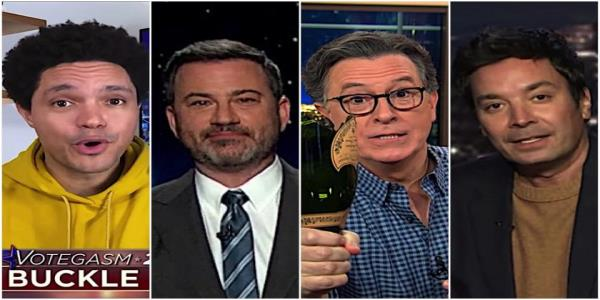 Late night hosts agree its time to Operation Warp Speed President Trumps concession speech