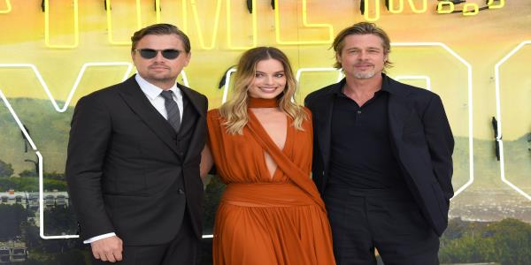 Margot Robbie Joins Brad Pitt and Leonardo DiCaprio At Dazzling Once Upon A Time... In Hollywood Premiere