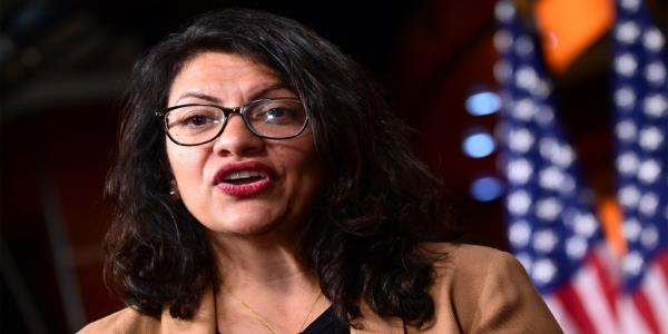 Tlaib Dismisses Criticism of Anti-Semitic Group That Planned Palestine Trip as 'Distraction'