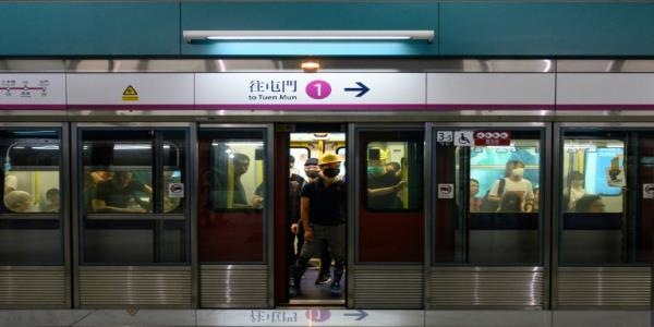 Chinese state media accuses Hong Kong metro of aiding protesters