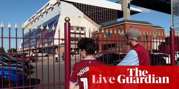 Aston Villa v Everton: Premier League – live!