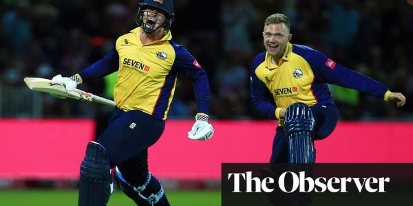 Simon Harmer guides Essex to last-ball T20 Blast title win over Worcestershire