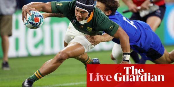 South Africa v Italy: Rugby World Cup 2019 – live!