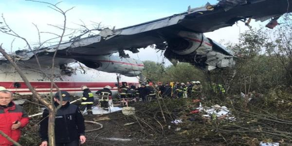 At least four killed in cargo plane crash landing in Ukraine
