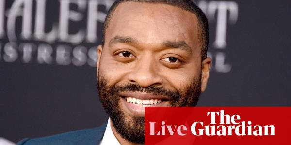 Chiwetel Ejiofor webchat – follow it live!
