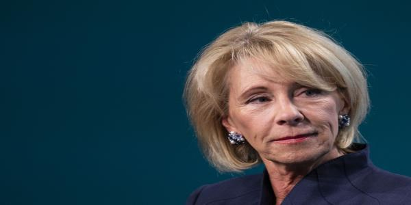 DeVos Fined $100,000 for Failure to Forgive Student Debt