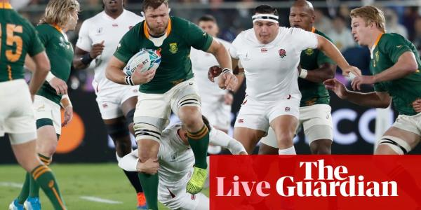 England v South Africa: Rugby World Cup 2019 final – live!