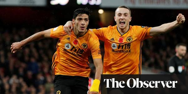 Arsenal drop points again after Raúl Jiménez header earns Wolves draw