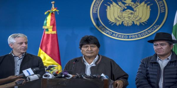 Bolivian President Evo Morales Resigns After Army Tells Him to Go