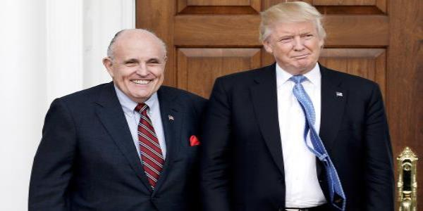 Rudy Giuliani says Trump will stay loyal to him but jokes that he has insurance