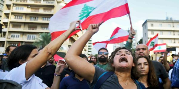 Lebanon's Protests Divide Hezbollah. Will It Strike Back?
