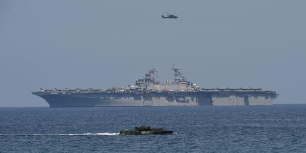 U.S. Increased Sea Patrols to Send Message to China, Defense Secretary Says
