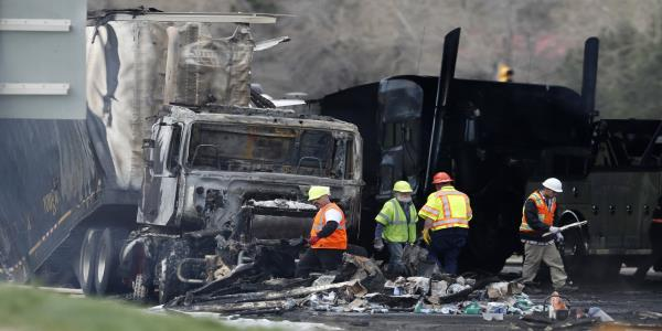 Trucker in Colorado pileup that killed 4 pleads not guilty
