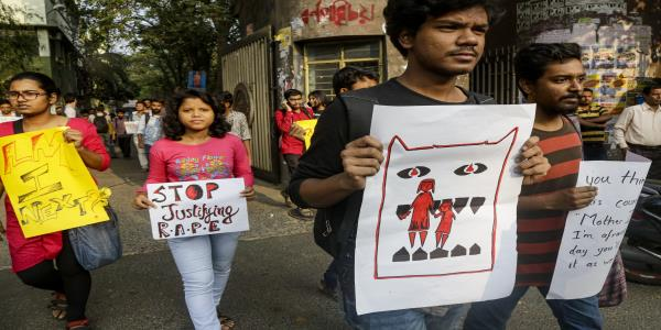 Indians demand justice after woman gang raped and killed