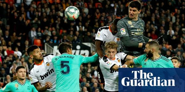 Courtois helps break Valencia hearts after swapping boxes for Real Madrid | Sid Lowe