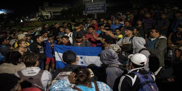 Mexico said latest migrant caravan wont pass - Guatemala president