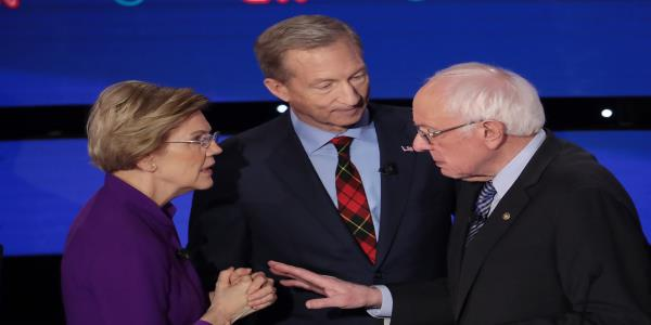 Warren Confronted Sanders After Debate About Calling Her a Liar