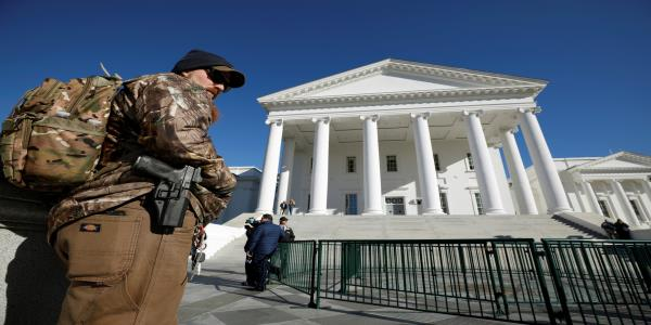 Virginia on edge as pro-gun activists seethe over governor's state of emergency