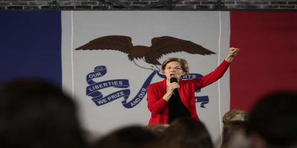 Warren Says She's Ready to Fight After Des Moines Register Nod