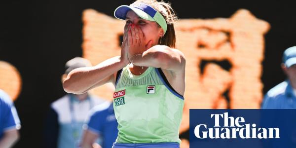 Garbiñe Muguruza and Sofia Kenin rip up script to reach Australian Open final