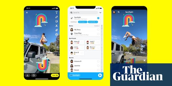 Snapchat Spotlight: feature gives rival TikTok a run for its money