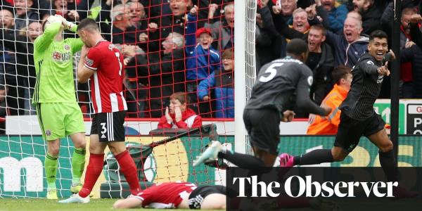 Henderson howler hands Liverpool narrow win at spirited Sheffield United