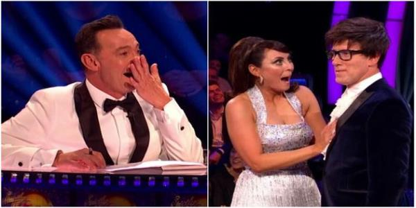Strictly Come Dancings Craig Revel Horwood Left Unusually Speechless After Hilarious Anton Du Beke Teeth Gaffe