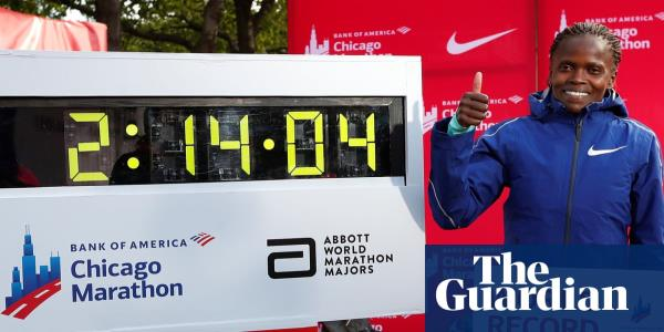 I can go quicker, says Brigid Kosgei after smashing Radcliffe's record