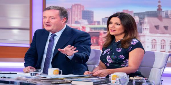 Susanna Reid Hits Back At Claims Shes Complicit In Piers Morgans Controversial Views Being Aired