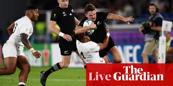 England v New Zealand: Rugby World Cup 2019, semi-final – live!