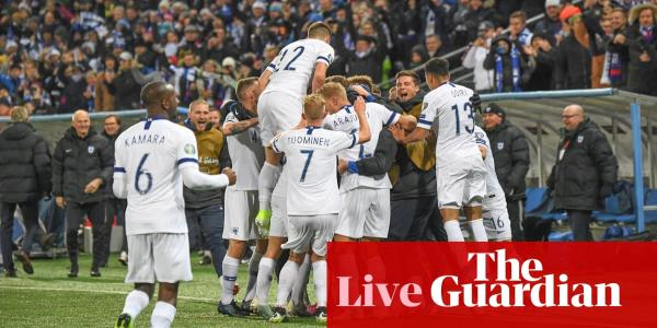Euro 2020: Finland seal qualification, Romania v Sweden – live clockwatch!