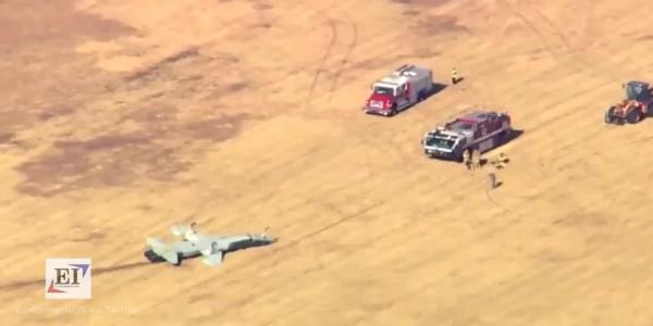 Military: 2 airmen killed in crash during Oklahoma training