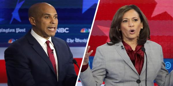 Booker and Harris warn Dems: Electability doesnt just mean appealing to white voters