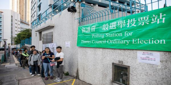 Pro-Democracy Candidates Set to Take Majority: Hong Kong Update