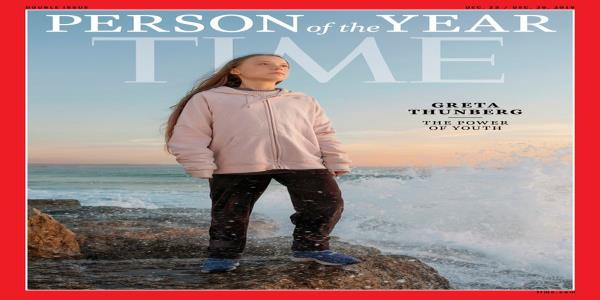 Teenage climate activist Greta Thunberg is Times Person of the Year