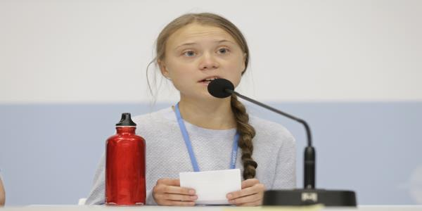 Greta Thunberg apologizes for against the wall comment