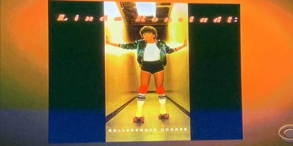 Linda Ronstadt 'Rollerskate Hooker' Graphic Slips Into 'Kennedy Center' Telecast