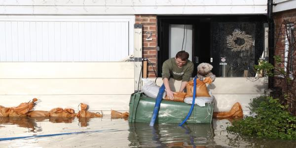 Devastating Floods Hit Homes In The South Of England Just Days Before Christmas