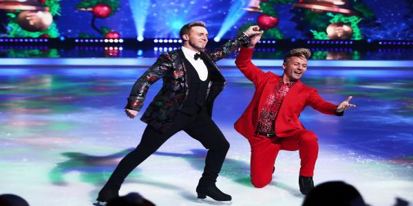 Dancing On Ices H Watkins Hits Back At Viewer Offended By First Same-Sex Skate