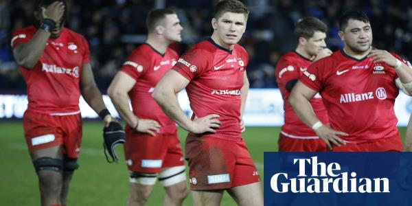 Saracens to accept second 35-point deduction and effective relegation