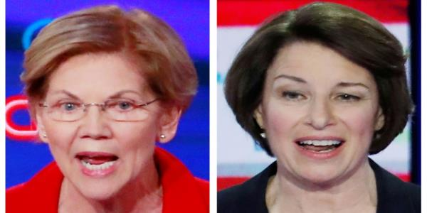 NYT Splits Presidential Endorsement for First Time in History, Backing Klobuchar and Warren