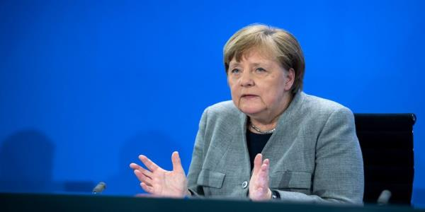 We need life again; Germans rush to reopened shops but Merkel worries