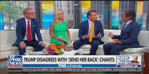 Fox News Host to Geraldo Rivera: I Can Tell You to Go Back to Where You Came From