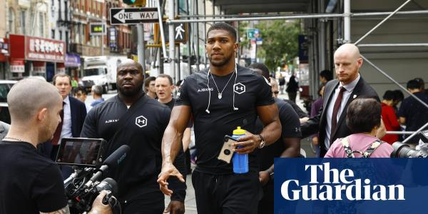 Anthony Joshua defends desert fight and points to Saudi Arabia 'reforms'