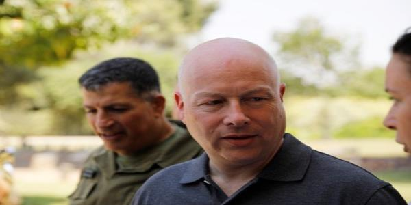 U.S. Middle East envoy Greenblatt to resign after plan released
