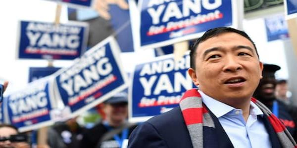Democratic candidate Andrew Yang peeling off Trump supporters with $1,000 universal income pledge