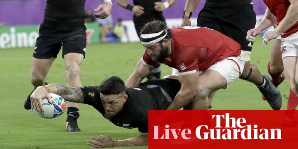 Rugby World Cup 2019: New Zealand v Canada – live!