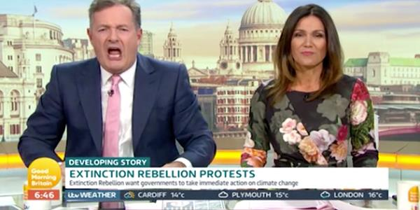 Piers Morgan Mocks Greta Thunberg As He Launches Attack On Shameless Extinction Rebellion Hypocrites