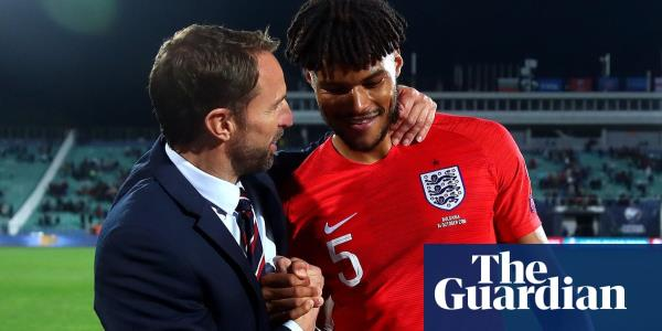 England's Tyrone Mings stands tall with composure off the pitch and on it