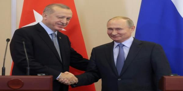 Erdogan hails historic agreement with Putin over Syria